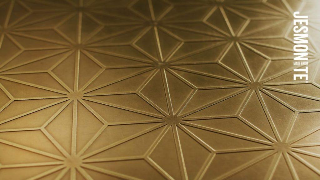 Image of Jesmonite Flex Metal Brass Surface
