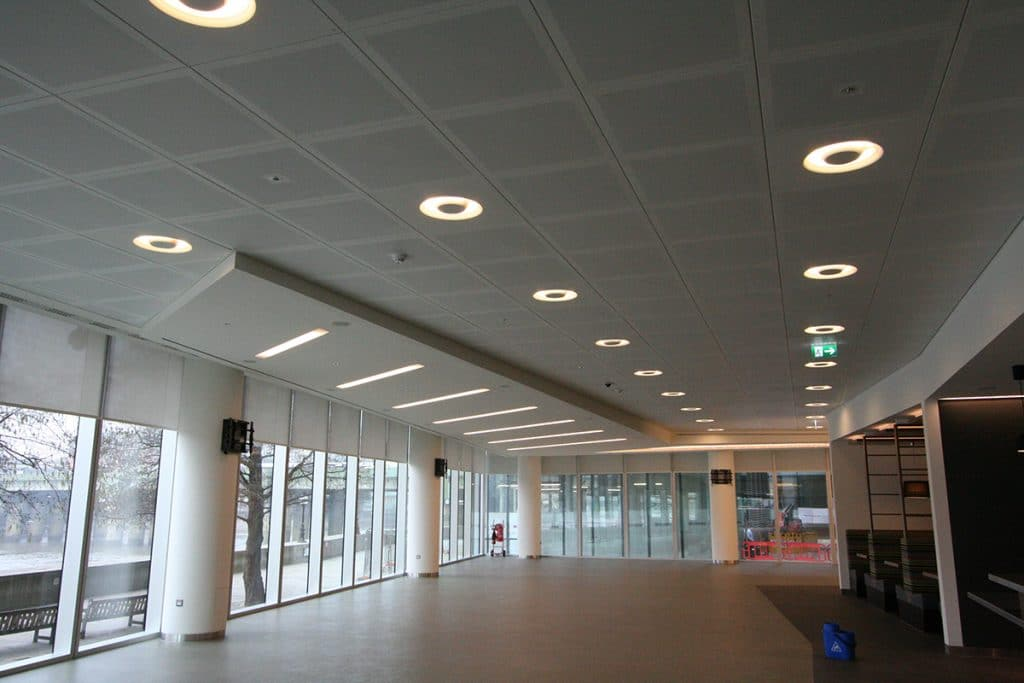 Picture of grg columns in office space