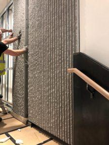 AC730 grey Jesmonite panel