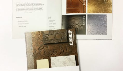 Image of Design and Visual Concepts Jesmonite Moulds brochure