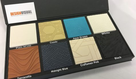 image of Jesmonite AC100 colour samples