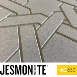 Jesmonite AC630 branded pattern